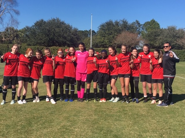 Coast 04 Girls Win PMSL State Cup